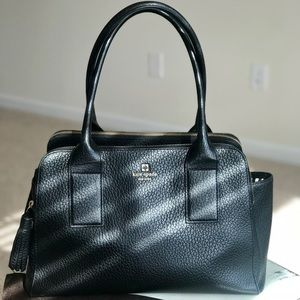 Kate spade tote with zipper laptop pouch